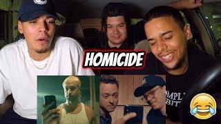 Logic - Homicide ft. Eminem (Official Video) REACTION REVIEW