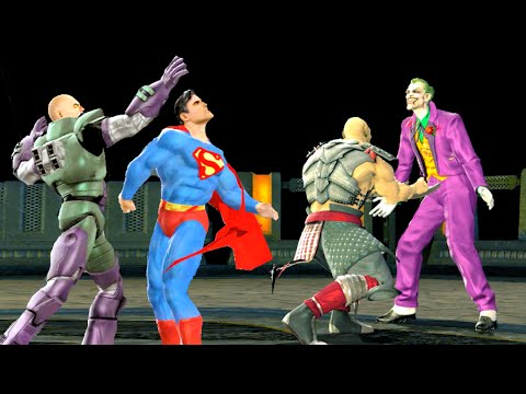 Mortal Kombat Vs DC All Fatalities
