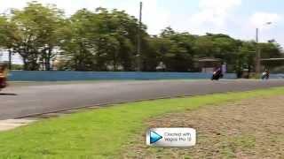 Test Performs MINERVA RX-150 at Sentul International Cicuit