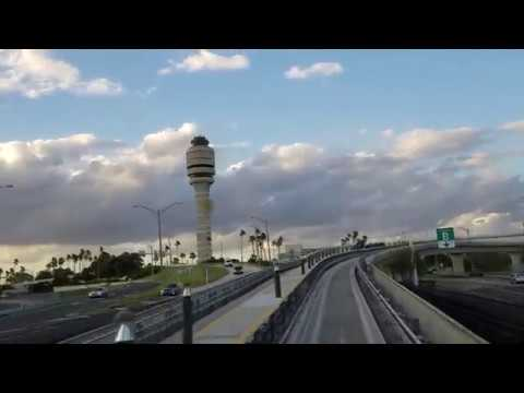 New MCO tram: Orlando International Airport