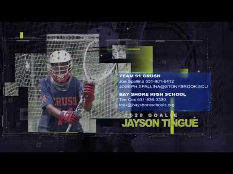 Jayson Tingue 2018 Spring/Summer Highlight Reel