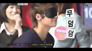 [ENG] 111005 SJ Yesung & f(x) Victoria-Amber Game Cuts @ Best Couple