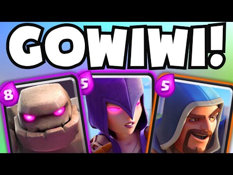 "Clash Royale UNDEFEATED ""GOWIWI DECK"" 