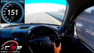 Honda Civic 2000 *POV test drive* & walkaround | Civic ek | 0-150 kph acceleration
