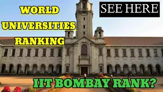 QS world University rankings 2020-21!Ranking of indian Universities down||See full lists
