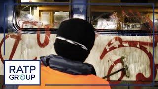 RER B : la propreté des trains - épisode 3
