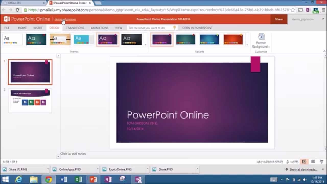 itcts_038 - Introduction to PowerPoint Online (Office 365 ...
