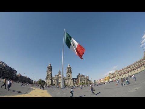 Mexico City 2017 GoPro Hero 5 (watch in HD)