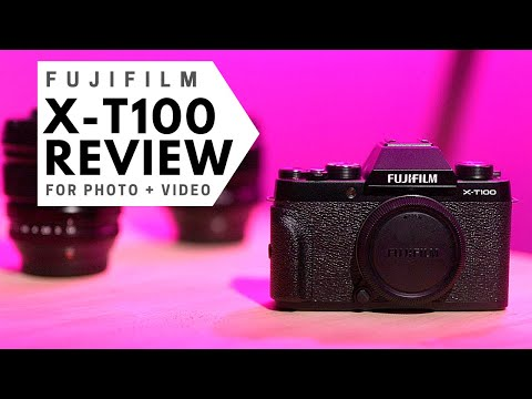 FujiFilm X-T100 Review for PHOTO and VIDEO | Best Beginner Camera???