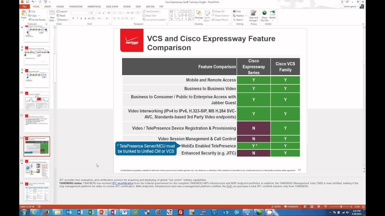Cisco Expressway Training Part 1