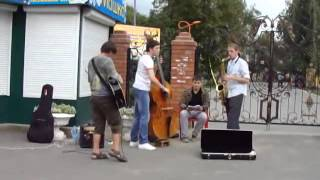 Уличные музыканты в Сызрани