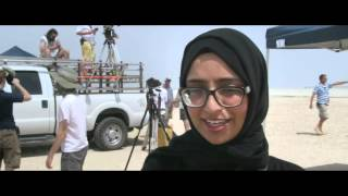 Эксклюзивные съемки в пустыне Абу Даби
