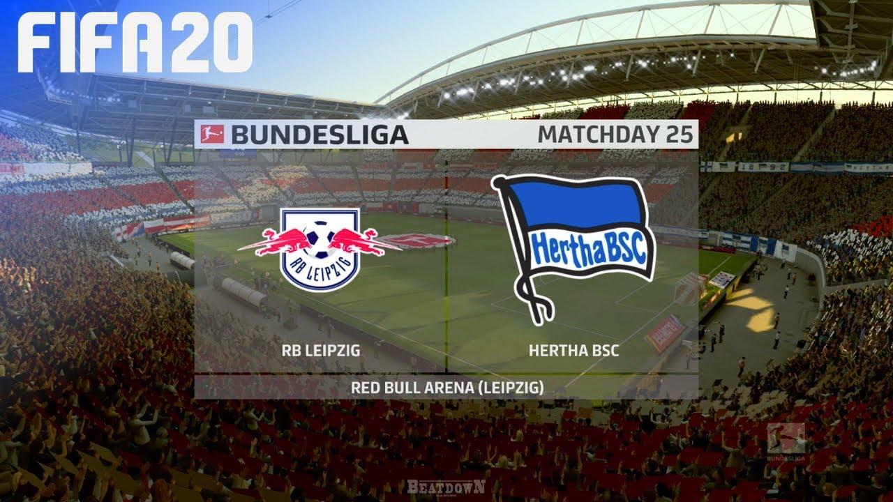 Fifa 20 Rb Leipzig Vs Hertha Bsc Red Bull Arena Youtube