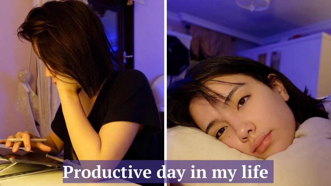 a productive day in the life vlog