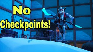 2:19 The Getting Over It/No Checkpoint Deathrun   World Record - Fortnite
