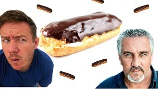 Paul Hollywood Chocolate Eclairs | Barry tries #6