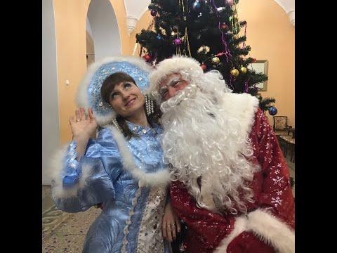 Детские новогодние елки в Замке Шереметева  и то, что осталось за кадром))