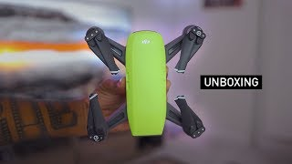 DJI Spark Fly More Combo Unboxing + Test Footage