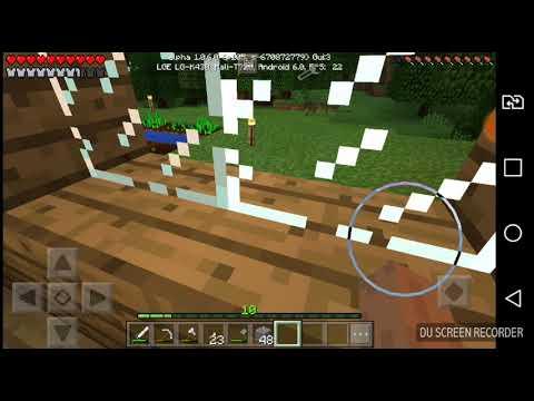 Играем а Minecraft PE 1.0.6 серия #6