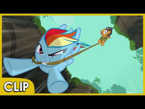 Rainbow And Quibble Pants In The Jungle - MLP: Friendship Is Magic [Season 6]