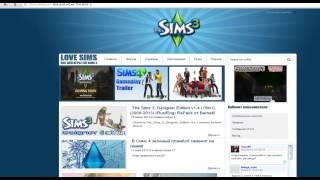 """Урок""""Как скачать The sims3"""""""