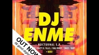 DJ Enme - Nocturnal EP - LaDubstep Nostra Recordings - OUT NOW - iTunes/Juno/Beatport