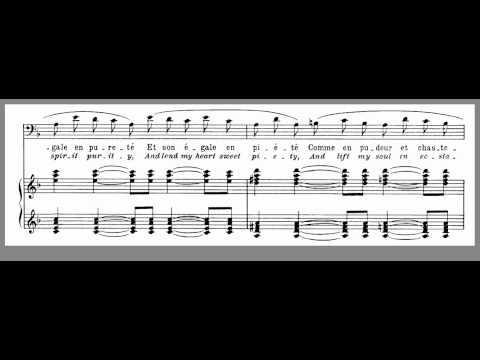 Chanson Epique - F - Ravel - F Maj - Don Quischotte