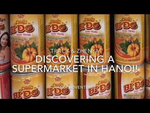 [Hanoi VLOG# 10] 2017 Hanoi Supermarket with Tracy & Женя (February)