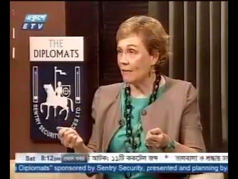 UN Women Representative in Bangladesh, Christine Hunter on ETV Bangladesh - The Diplomat.