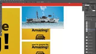 Photoshop Web Tasarım Dersleri 9 Haber Sitesi Slider Yapımı designus net