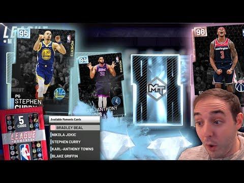 NBA 2K19 My Team BRAND NEW MOMENTS CARDS! SWEET DIAMONDS AND PINK DIAMOND BRADLEY BEAL!!!