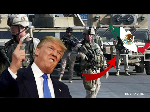 Donald Trump Amenaza A Peña Nieto Con Enviar Tropas A Mexico  | Guerra Mexico Vs EE.UU?