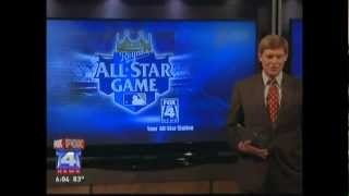 Meat Mitch on Fox 4 - BBQ Practice for MLB All Stars