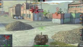 World of Tank Blitz  Su-101  +4600 DMG