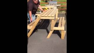Folding Bench/picnic Table
