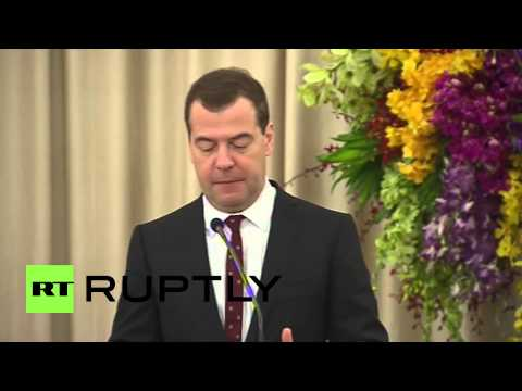 Thailand: Thailand-EEU trade barriers should be dropped says Medvedev