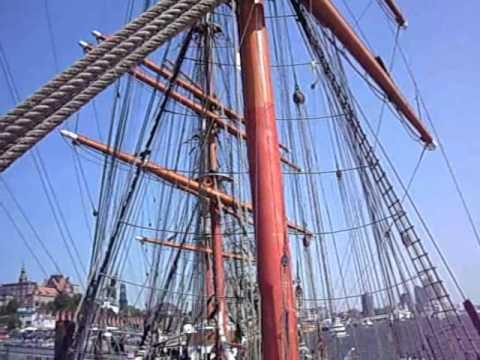 Windjammer Sedov  Hamburg 07.05.2011