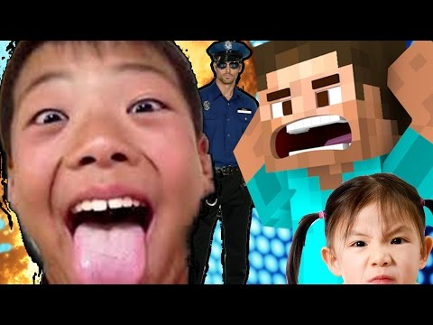 妹とキチガイ少年の家荒らしたら「警察通報」されたwww(マインクラフト 荒らし) - YouTube