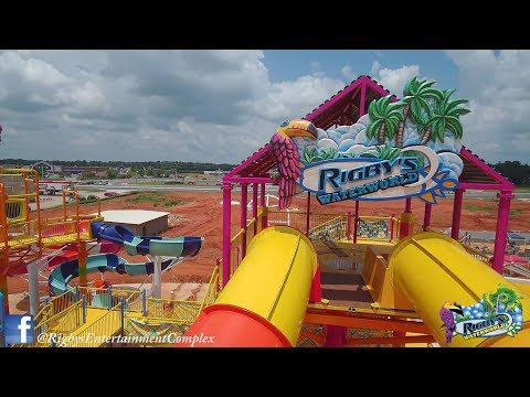 "Rigby's Water World Water Park, Warner Robins, GA "" Water Slides"""