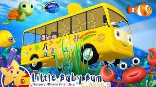 Canciones Infantiles | Autobús Bajo el Mar | Dibujos Animados | Little Baby Bum en Español