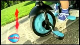Smart trike 4w1, rowerek(Stylowy, modny rowerek smart trike wyposażony w Steering Touch - technologię umożliwiającą manewrowanie rowerkiem za pomocą delikatnego dotyku., 2014-04-01T09:38:48.000Z)