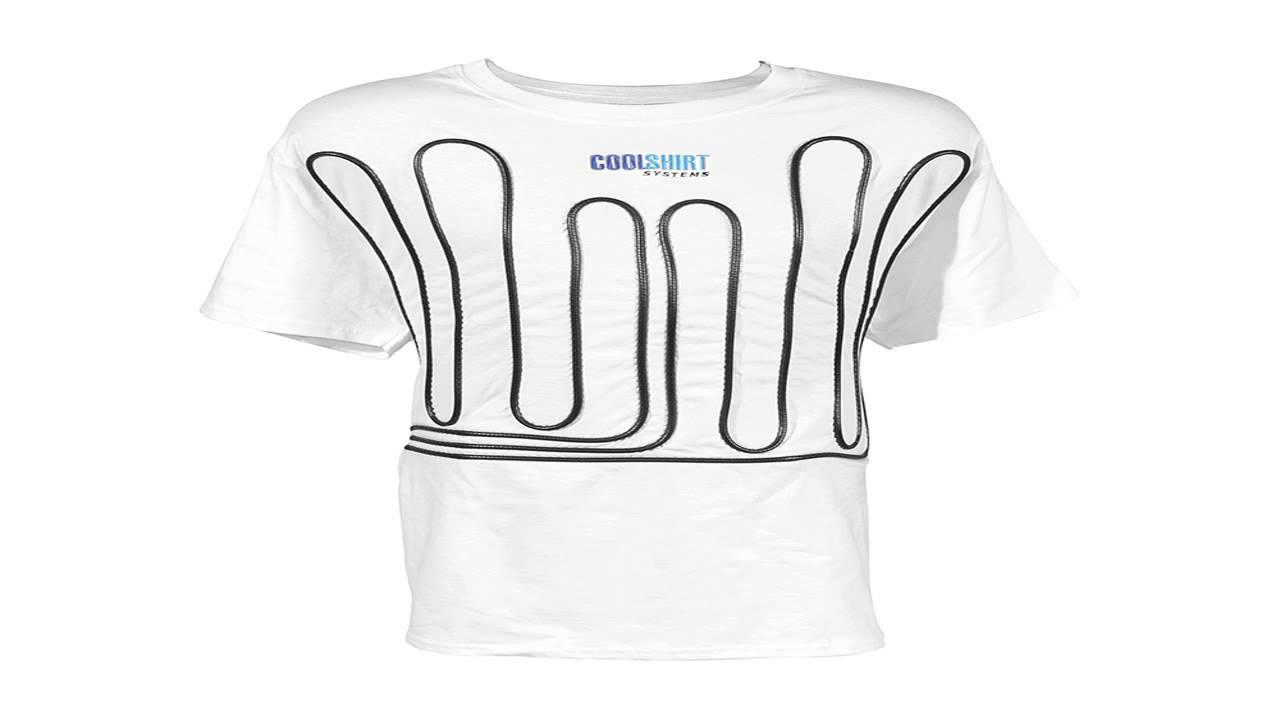 Cool Shirt CW M Cool Water White Medium Shirt - YouTube
