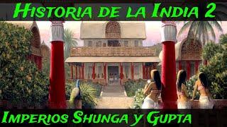 INDIA 2 Periodo Clsico - Shunga el Imperio Gupta y la invasin de los Hunos