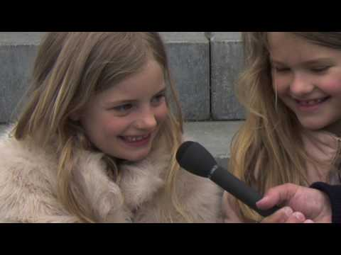 Copenhagen, May 7,  2017: Interview Liv  and Filippa from Odense, Denmark