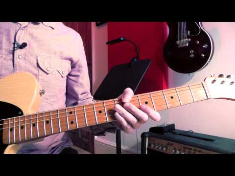 How To Play Kid by The Pretenders, Guitar Lesson