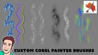 New Corel Painter Brushes - March 2019
