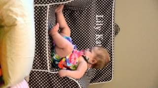 Lily Kate and her PB Anywhere Chair