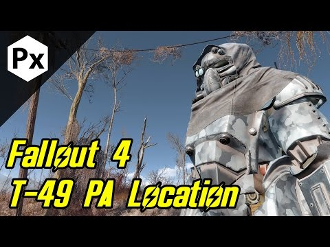 Fallout 4: T-49 - Armor of the Storyteller (Power Armor Location)