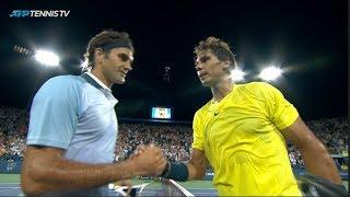 Roger Federer v Rafael Nadal: Cincinnati 2013 EXTENDED HIGHLIGHTS