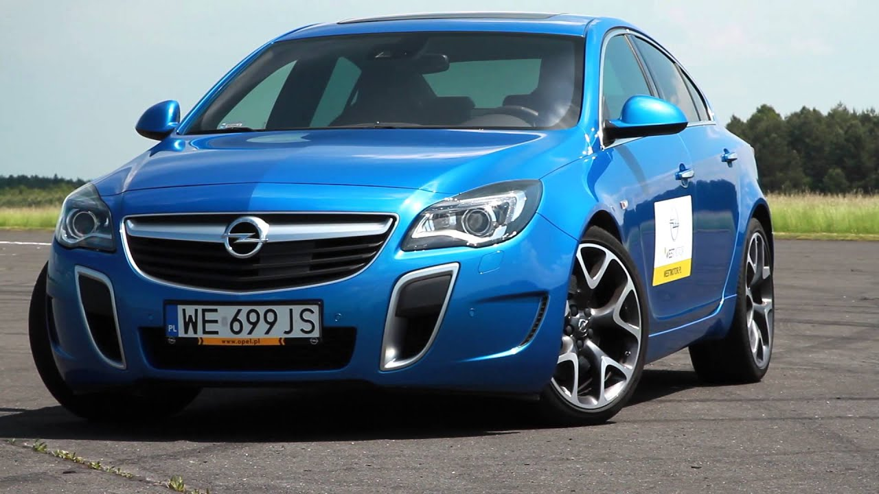 opel insignia opc 2015 test pl youtube. Black Bedroom Furniture Sets. Home Design Ideas